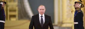 """""""Binnen weniger Stunden"""" in Syrien: Putin droht mit neuem Militäreinsatz"""