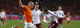 + Fußball, Transfers, Gerüchte +: Hollands Elf muss auf Robben verzichten