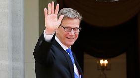 Ex-Außenminister stirbt mit 54: Die Karriere von Guido Westerwelle