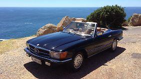Die Autos hat Salomon alle in Südafrika gekauft, weil der Einfuhrzoll für seine Berliner Klassiker kaum zu bezahlen wäre.