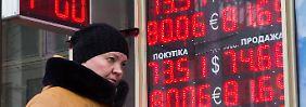 Russische Währung auf Jahreshoch: Notenbank führt Rubel aus Tal der Tränen