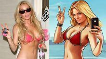 """Lindsay im Pixelformat: Lohan verklagt """"GTA 5""""-Macher"""