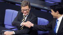 """Rösler erinnert sich an Westerwelle: """"Ein Liberaler durch und durch"""""""