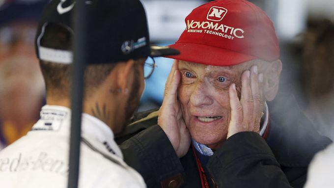 """Die Formel 1-Szene ist sich einig: Der neue Quali- Modus ist der wie Niki Lauda es ausdrückte """"größte Fehler""""."""