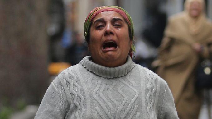 Mehrere Tote und Verletzte: Schwere Explosion erschüttert Einkaufsstraße im Zentrum von Istanbul