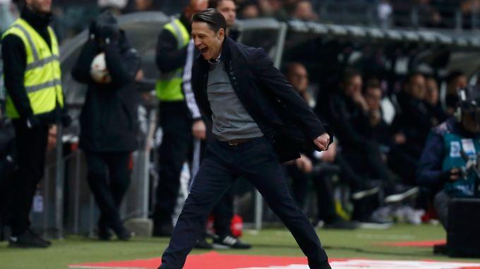Für Niko Kovac war es der erste Sieg als Bundesliga-Trainer.