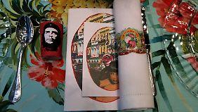 Ob sich Lagerfeld bei seinem Design von der diplomatischen Annäherung zwischen den USA und Kuba inspirieren ließ?