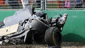 Das hier war mal Alonsos Wagen.