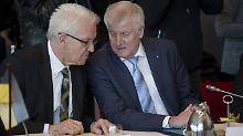 CDU steuert auf Juniorpartnerschaft zu: Seehofer: Kretschmann kann sein Handwerk