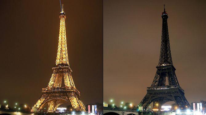 ... der Eiffelturm in Paris oder ...
