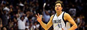 Ist da, wenn Dallas ihn braucht: Dirk Nowitzki