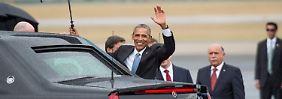 """""""Wie geht's, Kuba?"""": Obama besucht früheren Erzfeind"""