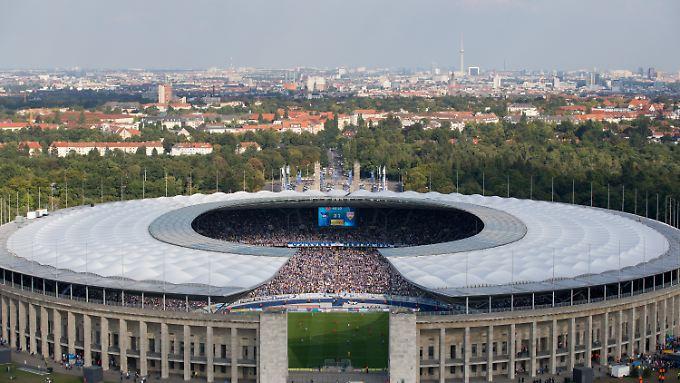 Im Berliner Olympiastadion ist für den Ostersamstag das Länderspiel zwischen Deutschland und England geplant.