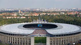 Zu groß für die Hertha: Das Berliner Olympiastadion.