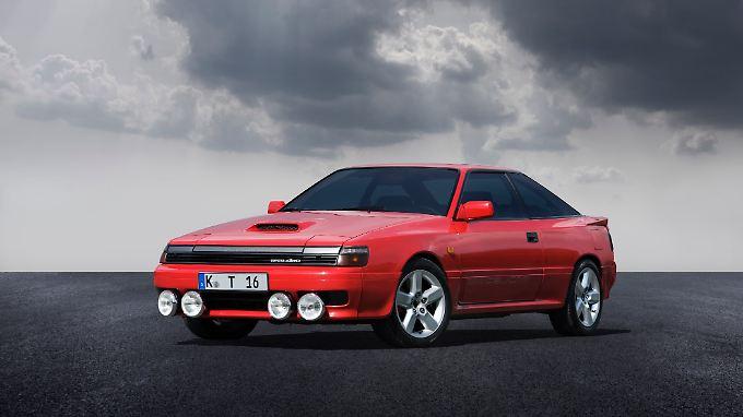 Die erste Frontantriebs-Generation der Celica fuhr zum Modelljahr 1987 auf Wunsch mit Turbotechnik, Zentraldifferential und Allradantrieb vor.