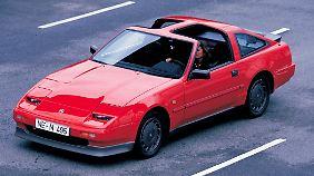 Der Nissan 300 ZX Turbo von 1986 kündete deshalb nicht nur optisch von der Vmax eines Supersportwagens, er setzte auch 228 PS frei.
