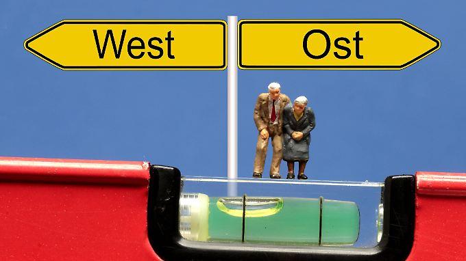 Zur Debatte steht unter anderem die Ost-West-Angleichung der Renten.