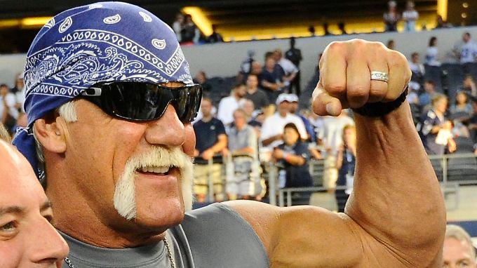 Hat nicht nur dicke Muckis: Hulk Hogan
