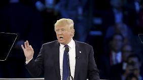 """""""Warum kümmert sich Deutschland nicht?"""": Trump stellt Nato-Engagement der USA infrage"""