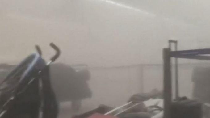 Erste Bilder vom Anschlagsort: Mehrere Tote bei Explosionen an Brüsseler Flughafen