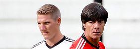 Kapitän als Sorgenkind: Schweinsteiger steht Löw zum Start ins EM-Jahr 2016 nicht zur Verfügung.