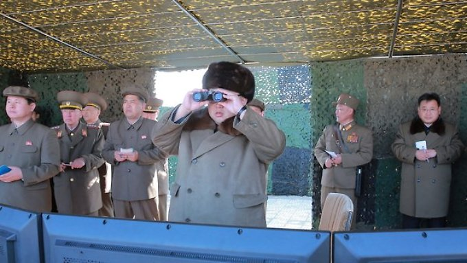 Wann genau der Triebwerktest für Feststoffraketen unter Machthaber Kim Jong Un stattgefunden haben soll, ist unklar.