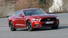 Wer einen echten Mustang fahren will bestellt das große V8-Triebwerk. So auch 70 Prozent der deutschen Kundschaft.