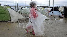 Chaos und Leid: In Idomeni macht sich Verzweiflung breit