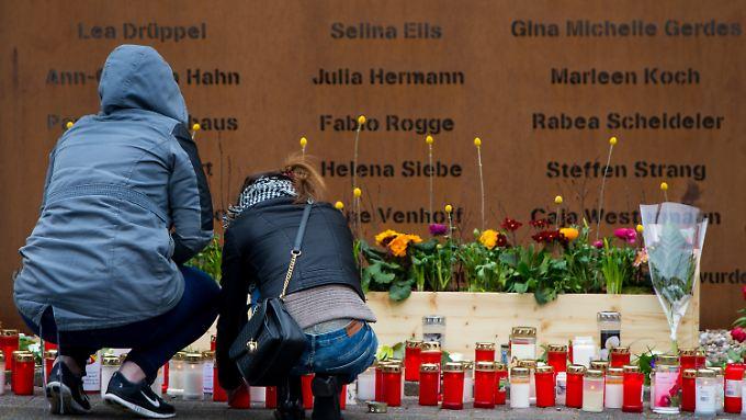 Trauer am Halterner Gymnasium: Aus dieser Schule stammten 18 der Absturzopfer.