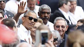 Zeitenwende in Kuba: Obama und Castro wagen trotz alter Probleme den Neuanfang