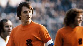 Trauer um Fußball-Legende: Johann Cruyff stirbt im Alter von 68 Jahren