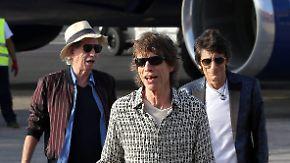 Gratiskonzert in Havanna: Rolling Stones rocken auf Kuba