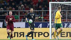 Der Brasilianer Guilherme steht ab sofort für Russlands Nationalmannschaft im Tor.