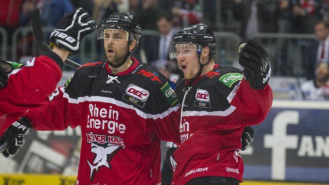 Nach dem 5:1-Sieg gehen die Kölner Haie selbstbewusst ins Finale gegen die Eisbären Berlin. Das Ergebnis spiegelt aber nicht den Spielverlauf von Partie 6 wider.