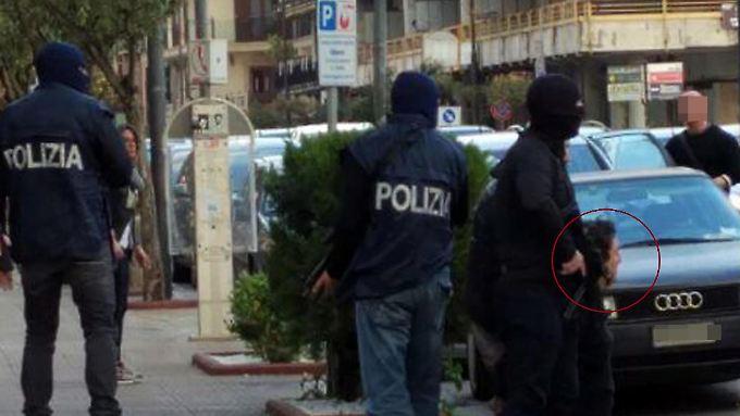 Der Algerier Djamal Eddine Ouali wurde in der italienischen Kleinstadt Bellizzi gefasst.