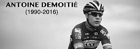 Die Radsport-Welt trauert um Antoine Demoitié, der nach einem Unfall mit nur 25 Jahren gestorben ist.