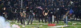 """""""Problem der öffentlichen Ordnung"""": Griechische Regierung verteidigt Pokal-Verbot"""