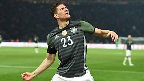 Hat wieder Spaß am Spiel: Mario Gomez