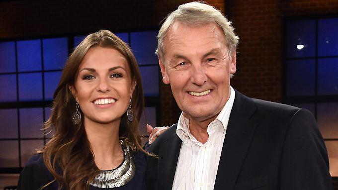 Jörg Wontorra gehört zum Urgestein des deutschen Fernsehens. Tochter Laura tritt in seine Fußstapfen.