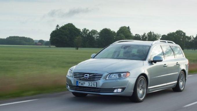 Der Volvo V70 ist für seine Sicherheit und das große Platzangebot bekannt.