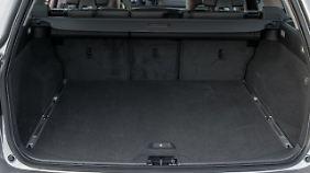Der V70 bietet viel Platz für's Gepäck.
