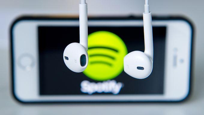 Streaming-Angebote wie Spotify werden immer populärer.