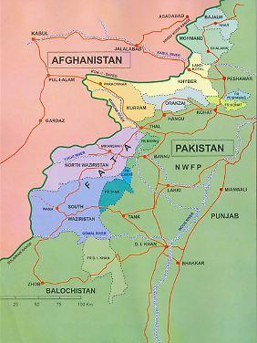 Die pakistanischen Stammesgebiete an der Grenze zu Afghanistan sind eine Hochburg von Taliban und Al-Kaida. Chitral liegt etwas weiter nördlich.