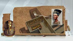 Möglicher Fund von Nofretete: Analysen an Tutanchamuns Grab deuten auf zwei Grabkammern hin