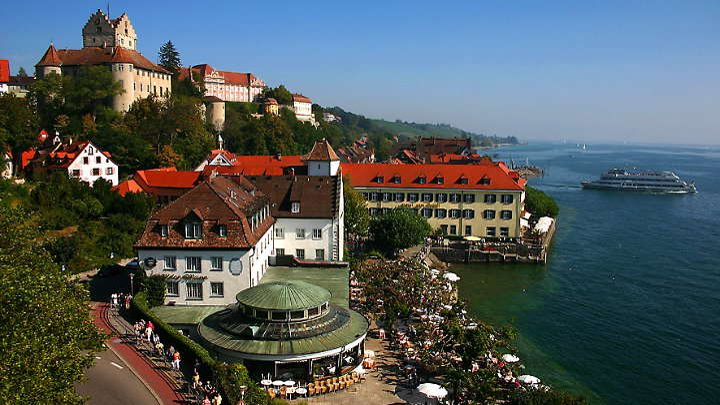 Meersburg war über einige Jahre hinweg die Heimat der Dichterin Annette von Droste-Hülshoff.