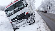 Aprilanfang in Hessen und Thüringen: Schneesturm verursacht Straßenchaos