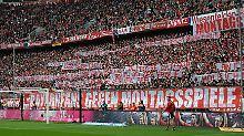Mehr Bundesliga am Sonntag: Klubs wollen Montagsspiele abschaffen