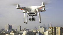 Knöllchen am Himmel: Behörden machen Jagd auf Drohnen