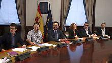 """""""Indiskutable Forderungen"""": Spanien steuert auf Neuwahlen zu"""