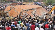 Feuerwerksunglück in Indien: Verdächtige nach Feuer-Katastrophe in Haft